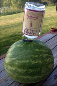 Alaska Distillery Fireweed Vodka Infused Watermelon