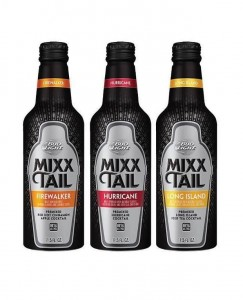 Bud Mixx Tail bottles