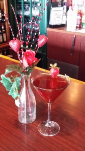 Chocolate Strawberry Martini