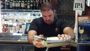 Rob Newhouse Pouring Drink