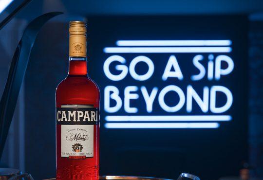 Campari Bottle