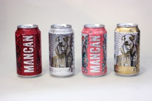 MANCAN wine in cans