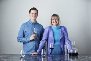 Richard Brendon and Jancis Robinson