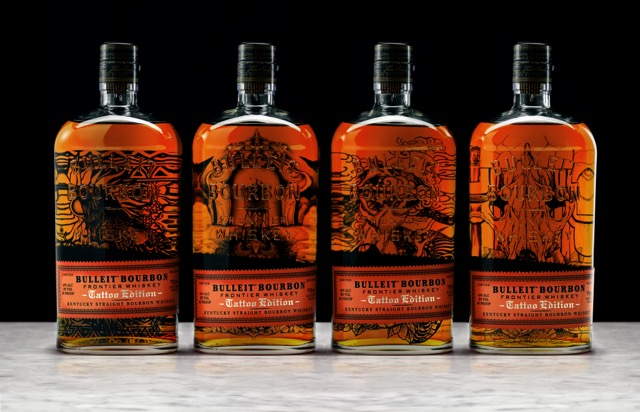 Bulleit_Tattoo_ALL_Group_Bottles_Photo 1