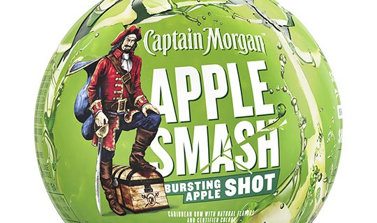 Capt. Morgan Apple Smash narrow