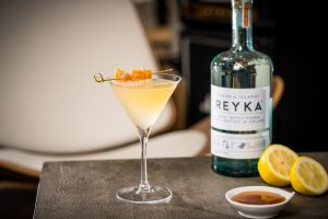 Lemon Ginger Martini Reyka small