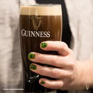 Guinness & Green Fingernails