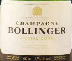 Bollinger Label
