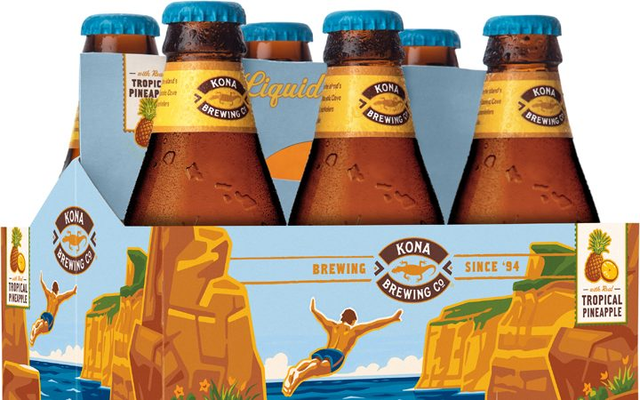 KO Gold Cliff 12oz bottle 6 pack photo 3D 120418 S