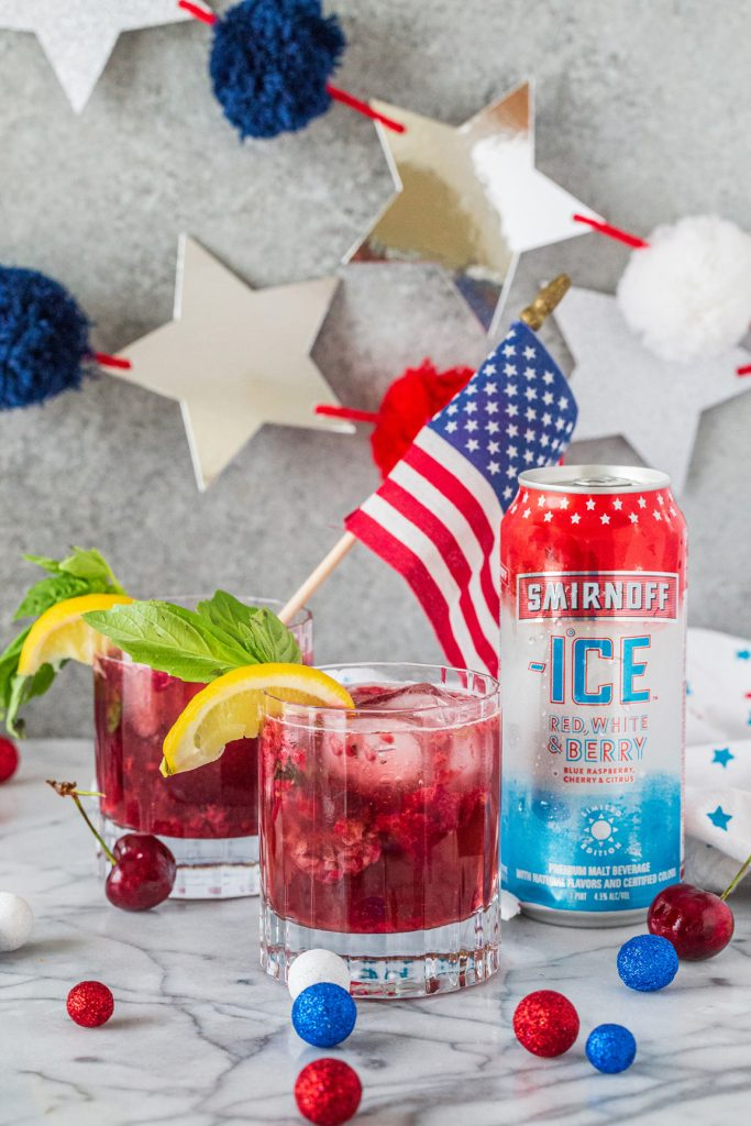 Smirnoff Americana Faux-Jito S