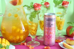 Smirnoff Seltzer White Peach Rose 4