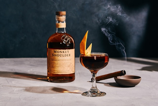 Monkey Shoulder Malt Jockey with Bottle