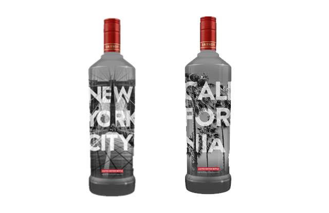Smirnoff Local Bottles feature