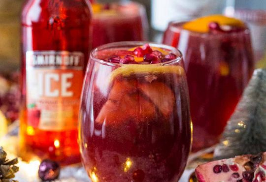 Pomegranate Strawberry Orange Punch Feature