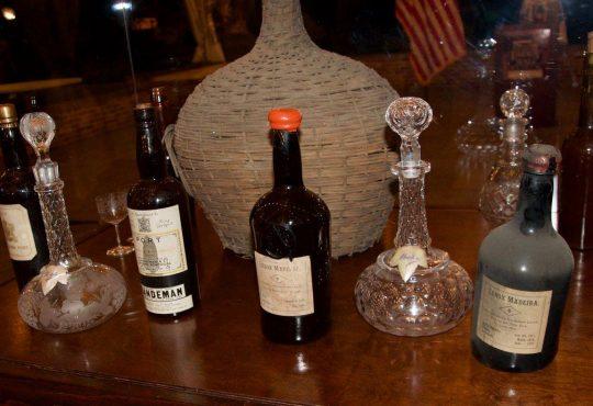 Liberty Hall Port bottlesS