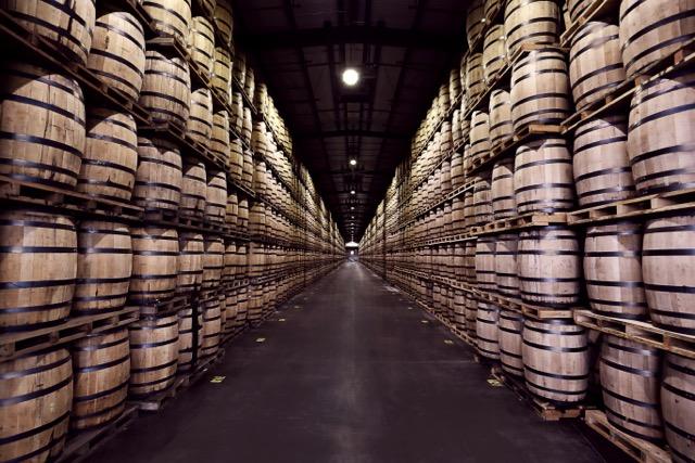 Bulleit Frontier Whiskey Barrels