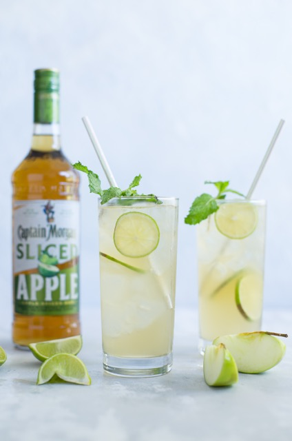 Captain Morgan Apple Mule