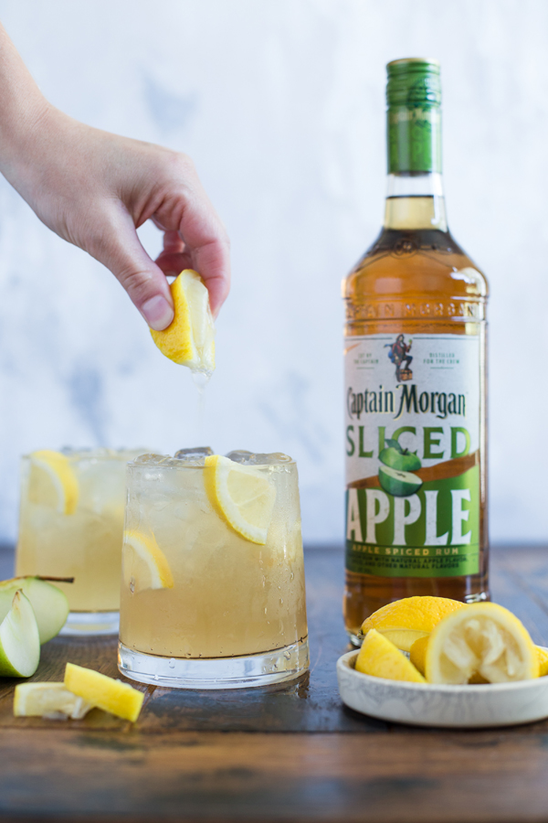 Captain Morgan Apple Sour