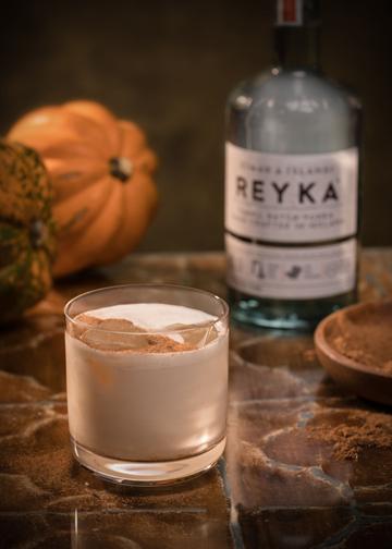 Reyk Vodka Pumpkin Spiced LatteS