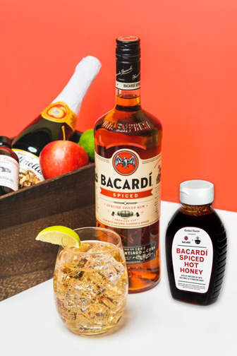 Bacardi Spiced Up Cider & BACARDI Hot Honey