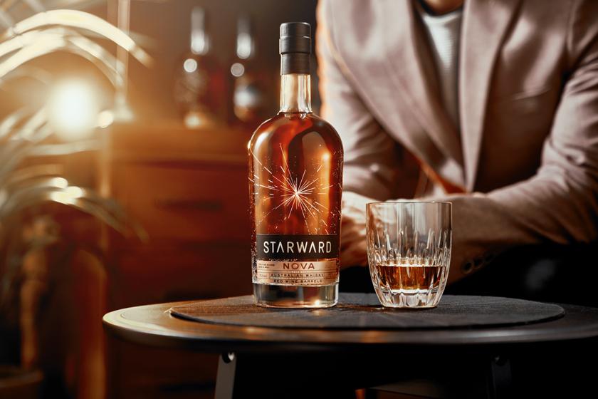 Starward Nova Bottle, Glass, PersonS