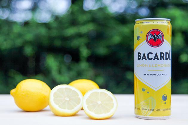 BACARDI RTD - Limon & Lemonade