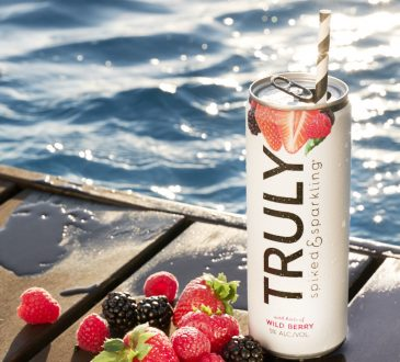 Truly Wild Berry water