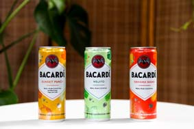 BACARDI Real Rum Canned Cocktail New Flavors