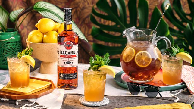 Bacardi Spiced Palmer