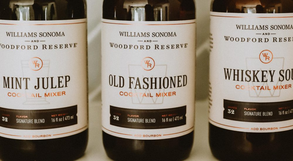 Woodford Reserve_Wm. Sonoma Mixers Feature
